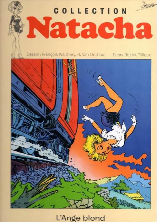 Couverture de Natacha - La Collection (Hachette) -16- L'ange blond