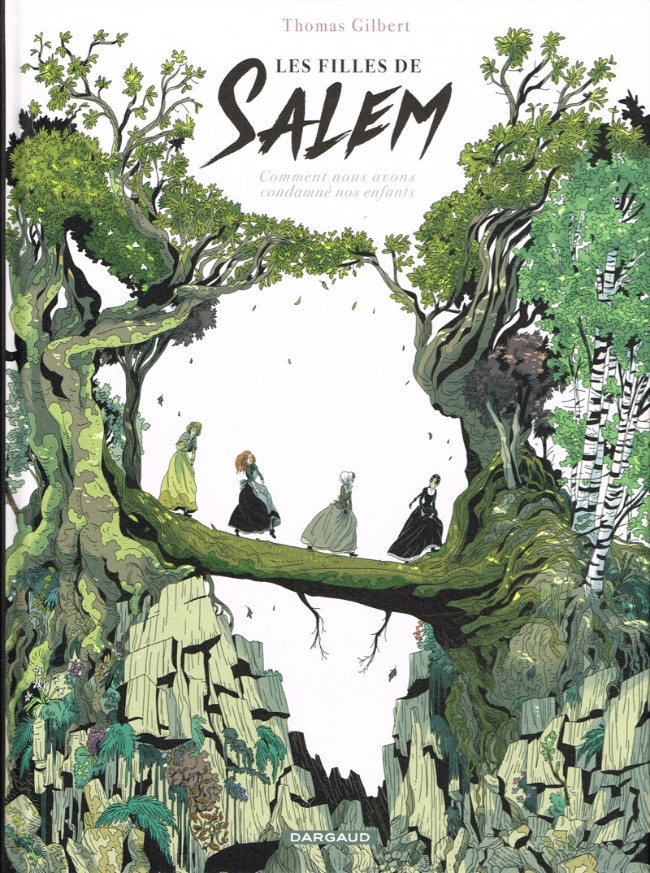 Couverture de Les filles de Salem
