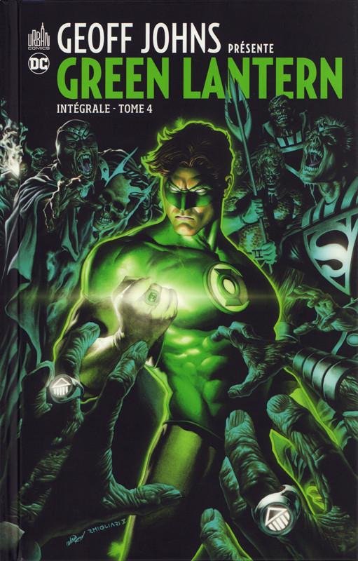Couverture de Green Lantern (Geoff Johns présente) -INT04- Intégrale - Tome 4