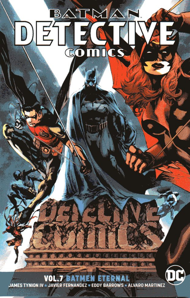 Couverture de Detective Comics (1937) -INT07- Vol.7 Batmen Eternal