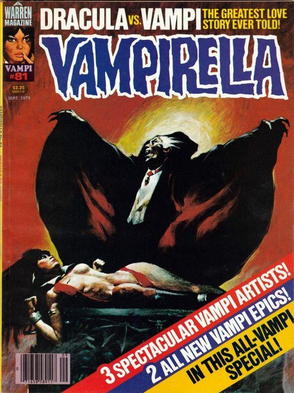 Couverture de Vampirella (Warren) -81- Dracula vs. Vampi
