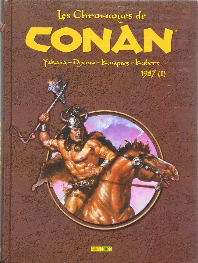 Couverture de Les chroniques de Conan -23- 1987 (I)