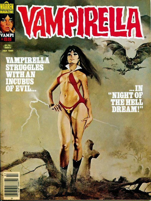 Couverture de Vampirella (Warren) -88- (sans titre)