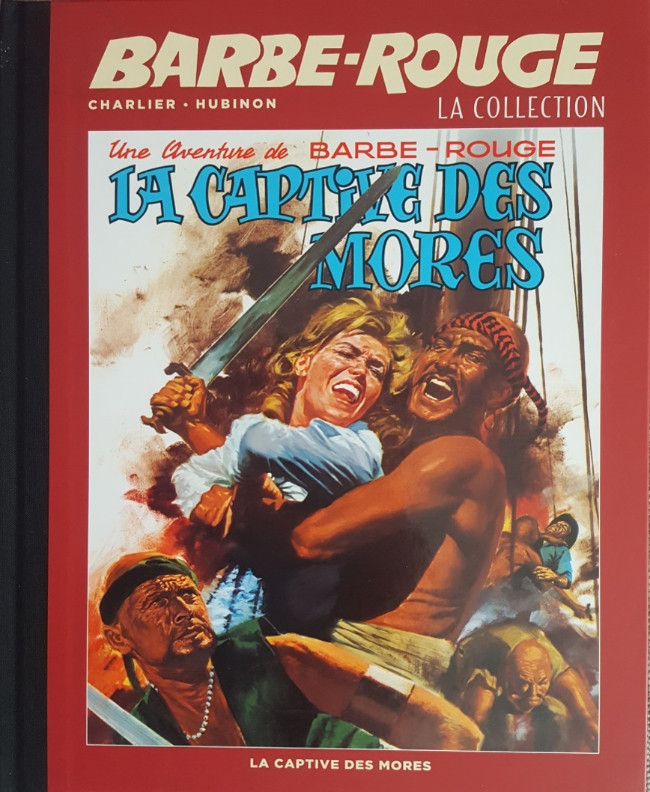 Couverture de Barbe-Rouge (Eaglemoss) -16- La captive des Mores