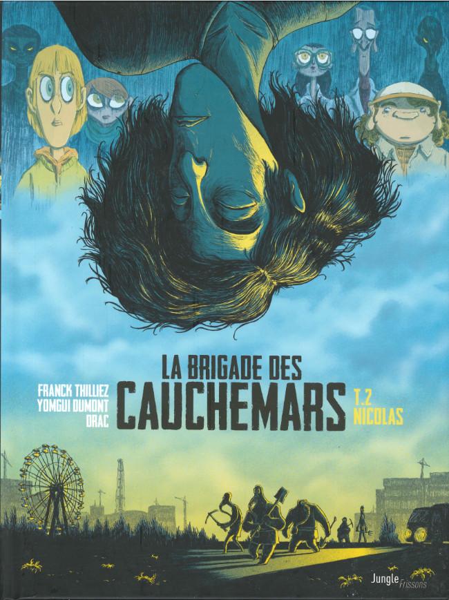 Couverture de La brigade des cauchemars -2- Nicolas