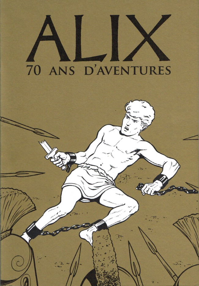 Couverture de Alix -HS12- Alix 70 ans d'aventures