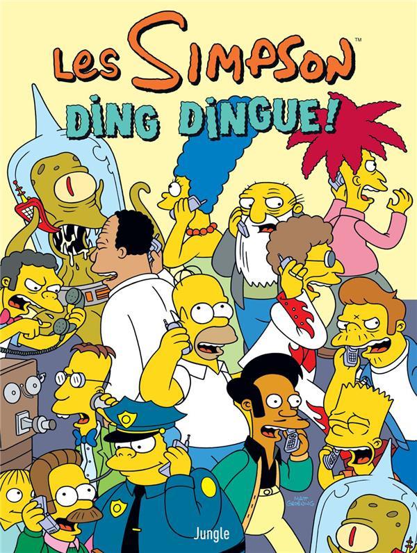 Couverture de Les simpson (Jungle !) -37- Ding dingue !