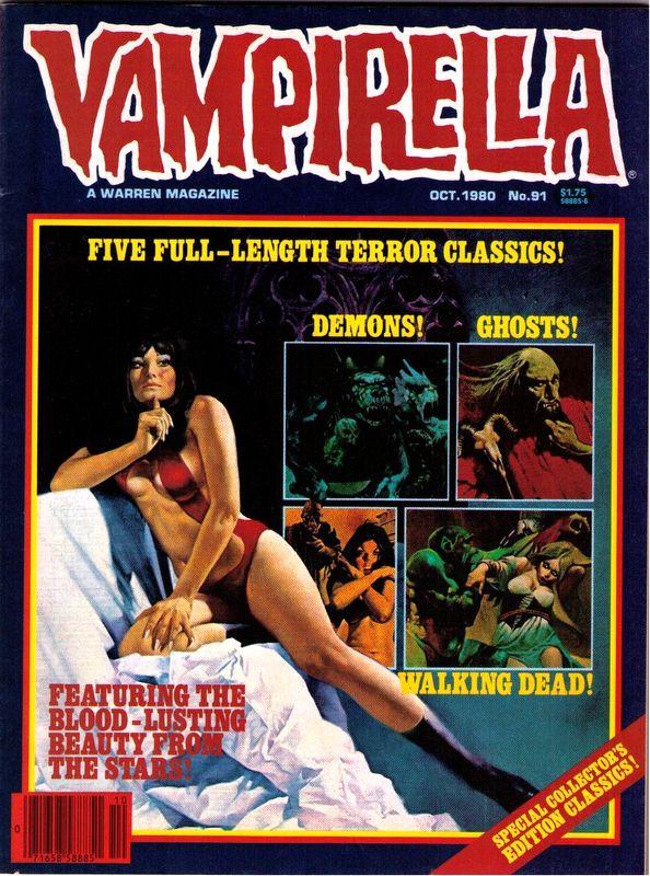 Couverture de Vampirella (Warren) -91- (sans titre)