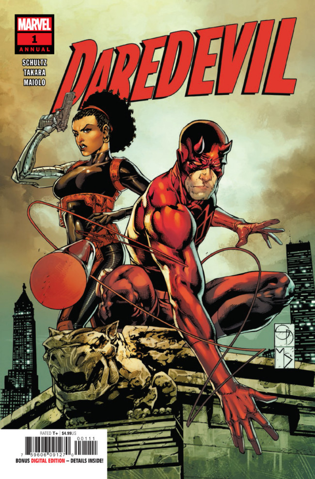 Couverture de Daredevil (2018) -AN01- Annual #1