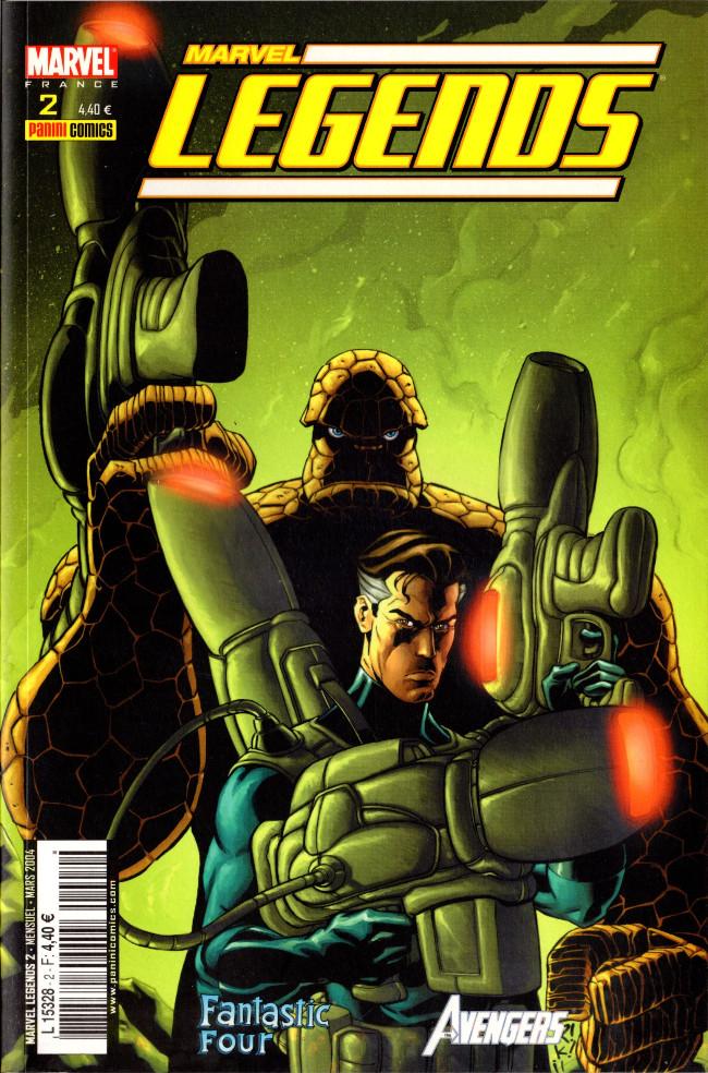 Couverture de Marvel Legends -2- L'appel des ténèbres