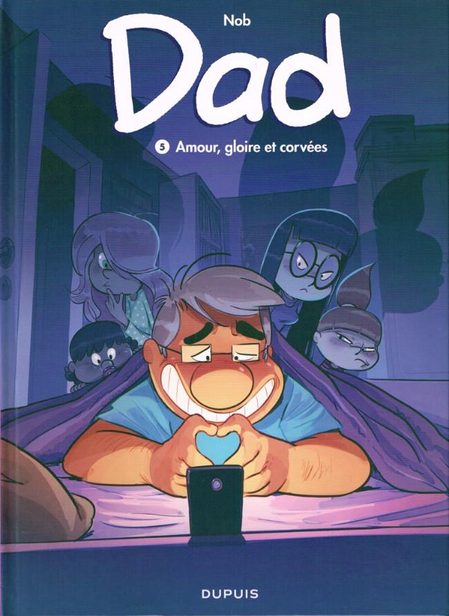 Couverture de Dad -5- Amour, gloire et corvées