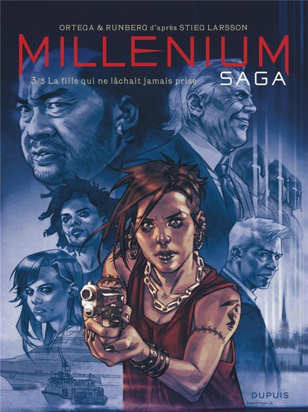 Couverture de Millénium Saga -3- La fille qui ne lâchait jamais prise
