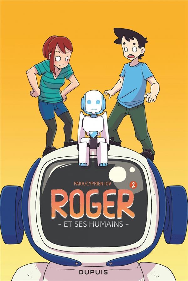 Couverture de Roger et ses humains -2- Tome 2