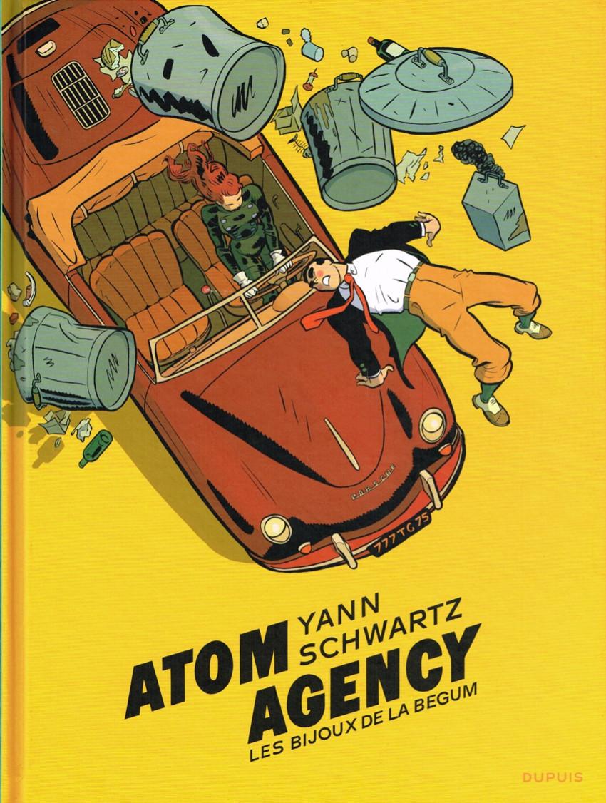 Couverture de Atom Agency -1- Les Bijoux de la Begum