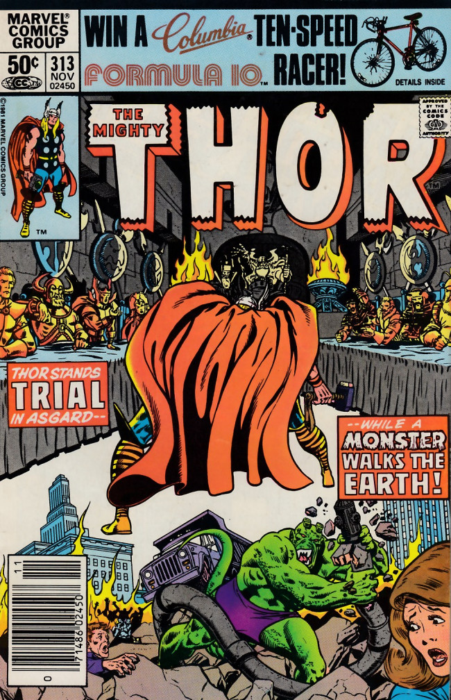 Thor 1966 313 Serpent From The Heavens
