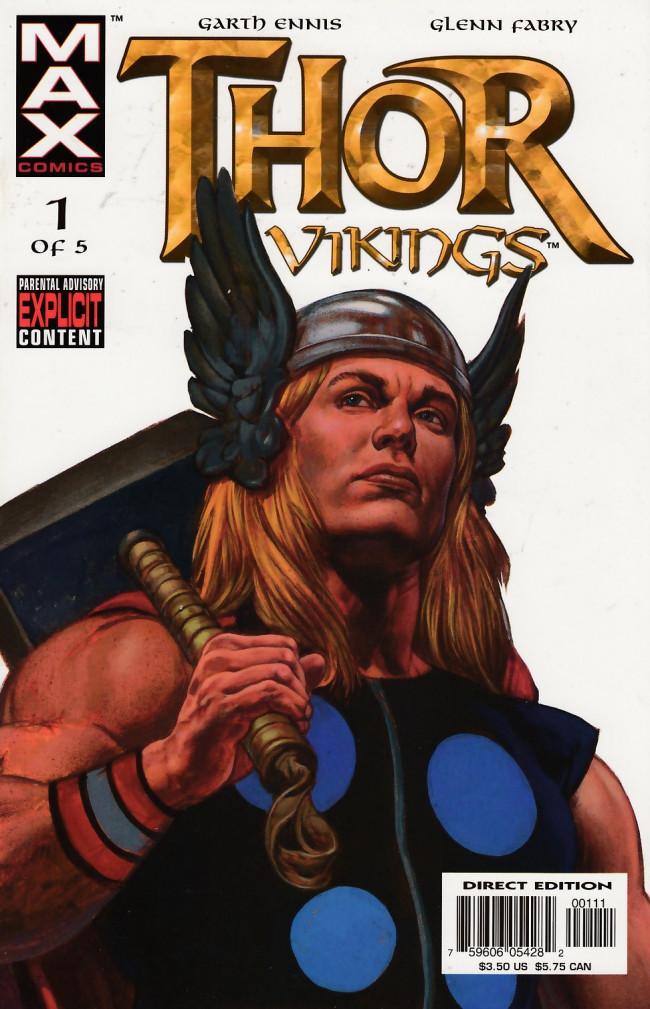 Couverture de Thor: Vikings (2003) -1- 1: Endless Ocean