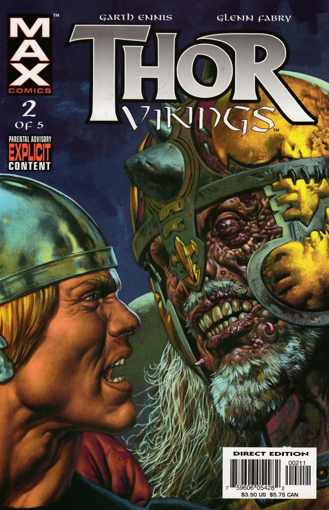 Couverture de Thor: Vikings (2003) -2- 2: Kingdom of Iron