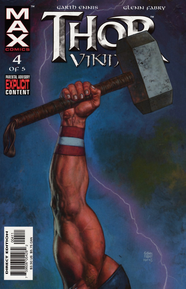Couverture de Thor: Vikings (2003) -4- 4: Fight the Good Fight