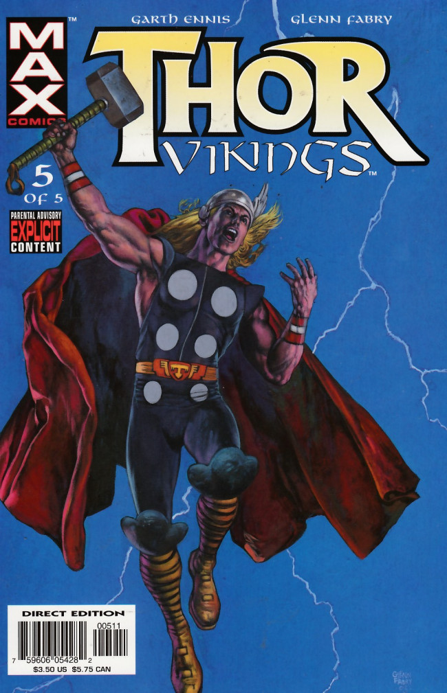 Couverture de Thor: Vikings (2003) -5- 5: See You in Valhalla
