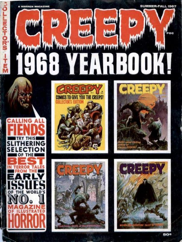 Couverture de Creepy (1964) -ANN1968- Year book 1968