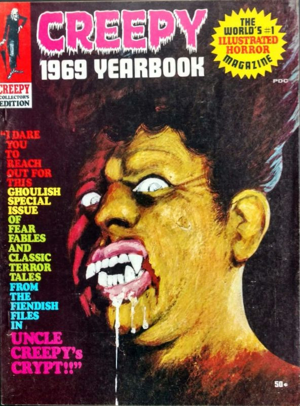 Couverture de Creepy (1964) -ANN1969- Year book 1969