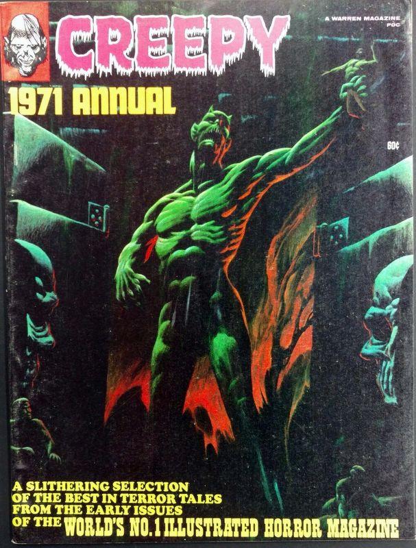 Couverture de Creepy (1964) -ANN1971- Annual 1971