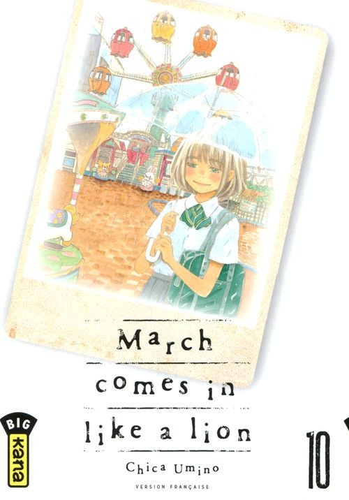 Couverture de March comes in like a lion -10- Tome 10