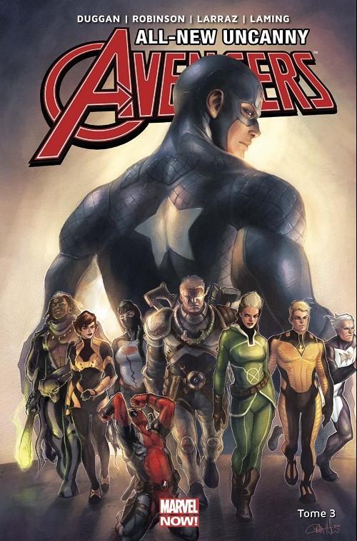 Couverture de All-New Uncanny Avengers -3- Rebondir