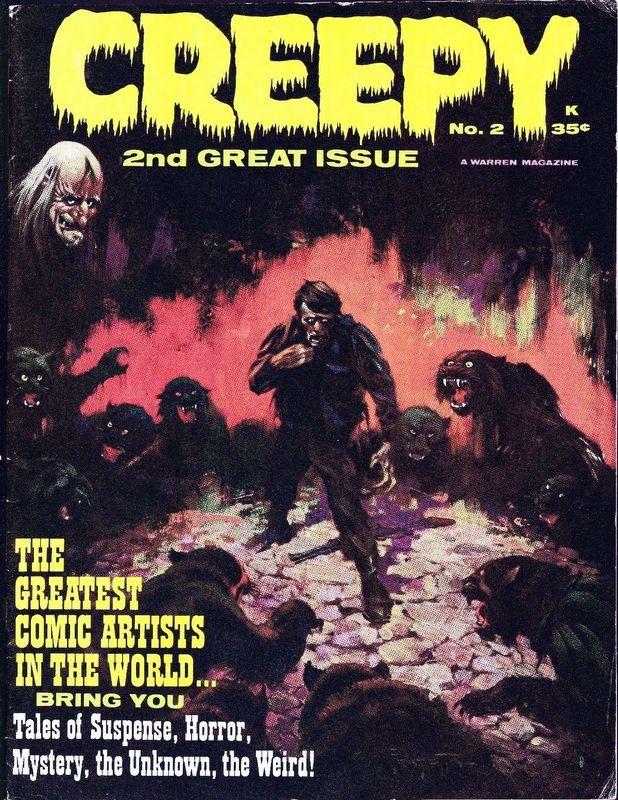 Couverture de Creepy (1964) -2- (sans titre)