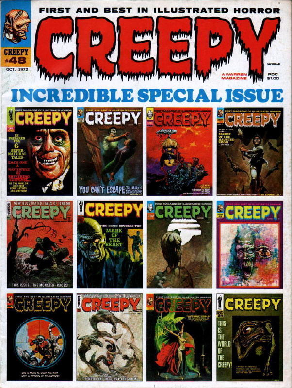 Couverture de Creepy (1964) -48- Incredible special issue
