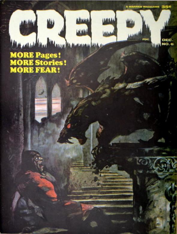 Couverture de Creepy (1964) -6- (sans titre)