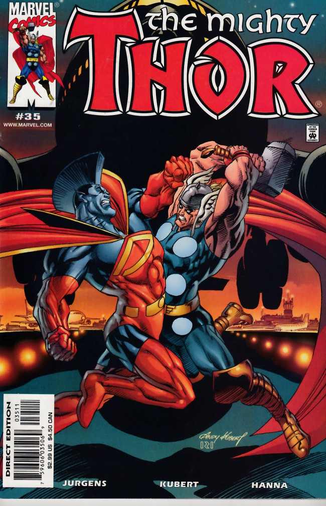 Mighty Thor The 1998 35 Across All Worlds