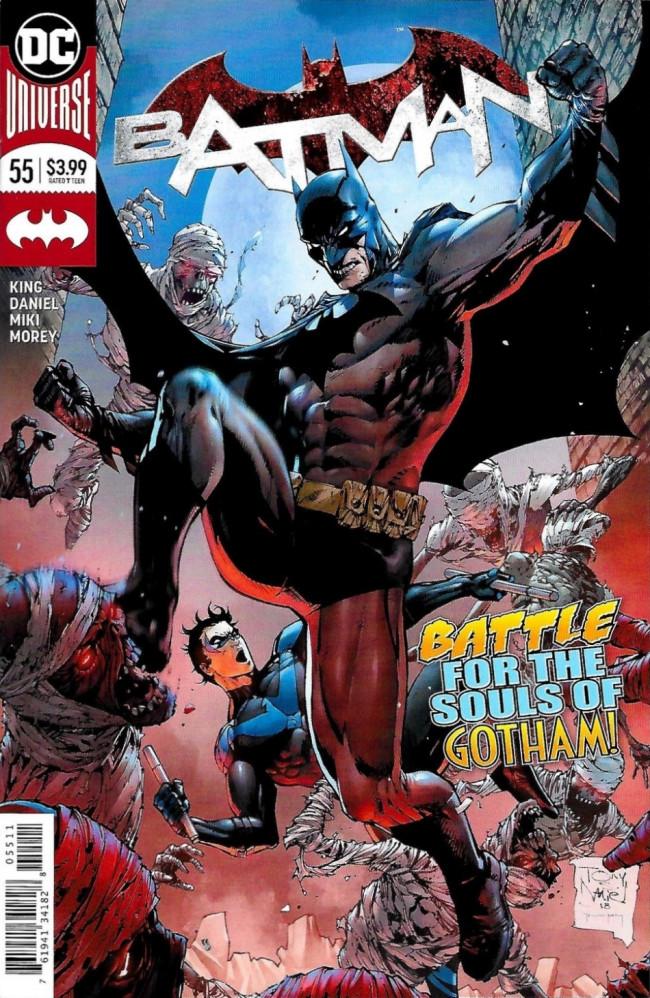 Couverture de Batman (2016) -55- Beasts of Burden, Part One