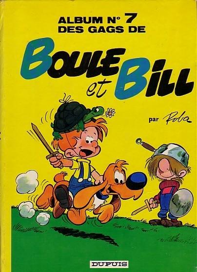 Couverture de Boule et Bill -7- Album N° 7 des gags de Boule et Bill