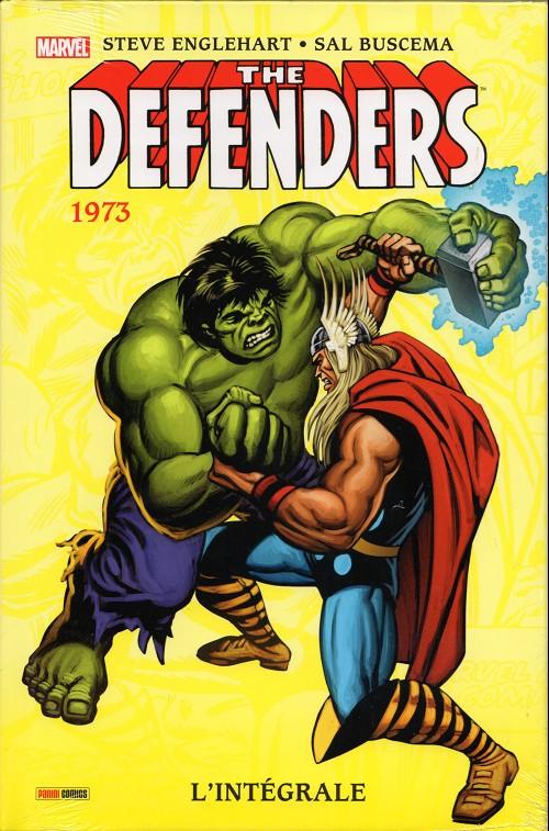 Couverture de Defenders (The) (L'intégrale) -INT02- 1973