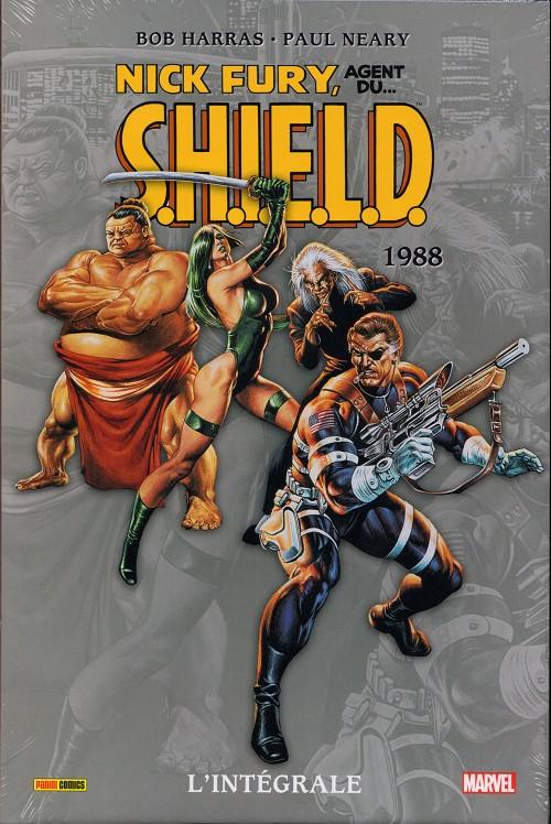 Couverture de Nick Fury, agent du S.H.I.E.L.D. (L'intégrale) -INT04- 1988