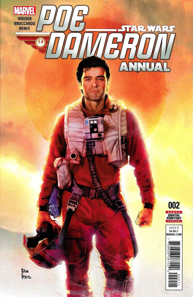 Couverture de Star wars: Poe Dameron Annual (2017) -2- Poe Cameron Annual II