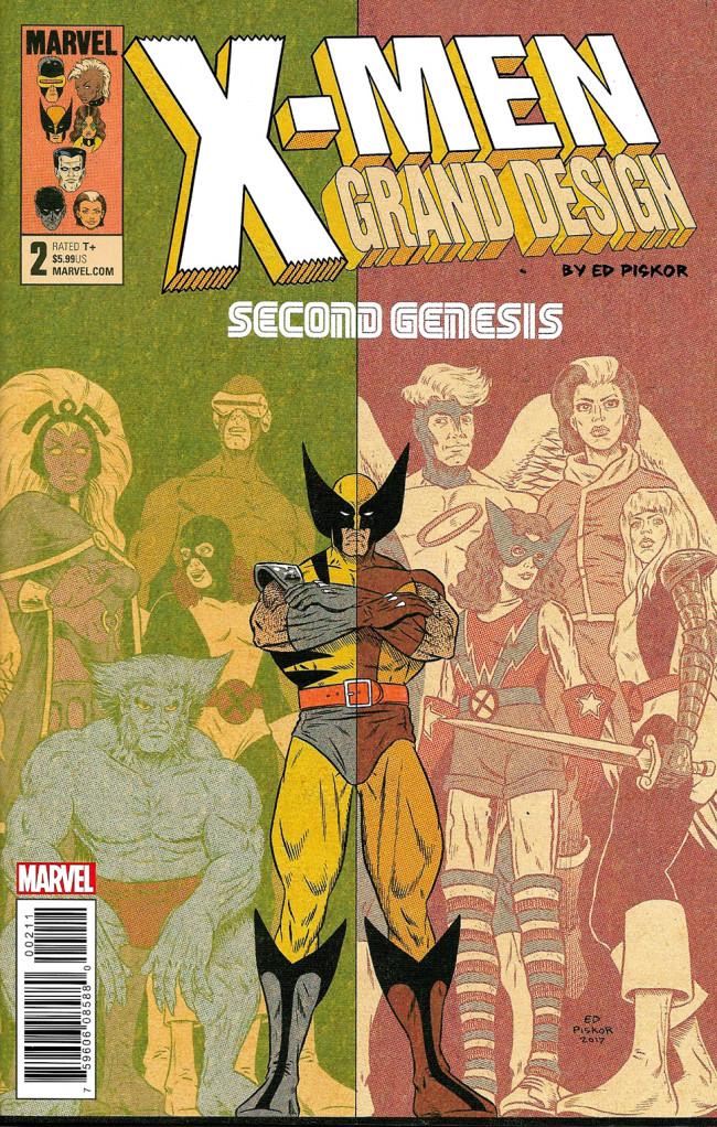 Couverture de X-Men: Grand Design - Second Genesis (2018) -2- X-Men: Grand Design - Second Genesis