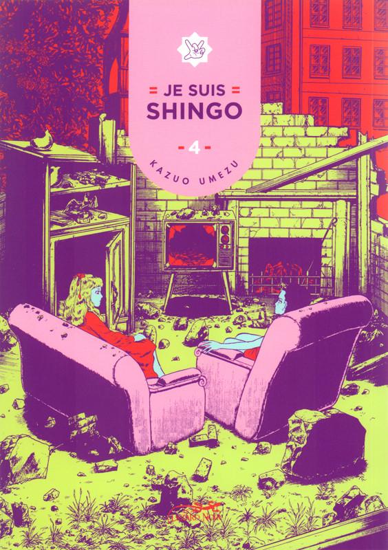 Couverture de Je suis Shingo -4- Tome 4