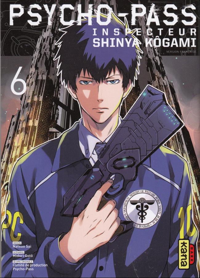 Couverture de Psycho-Pass - Inspecteur Shinya Kôgami -6- Tome 6