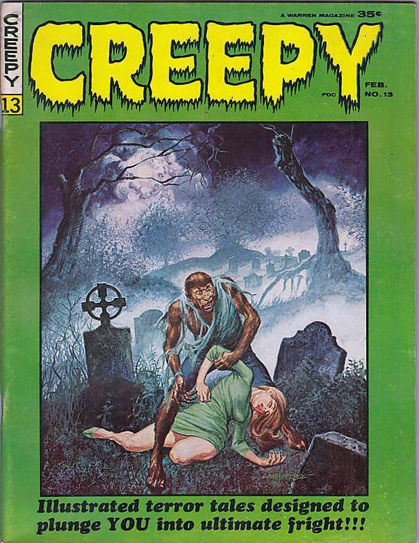 Couverture de Creepy (1964) -13- (sans titre)