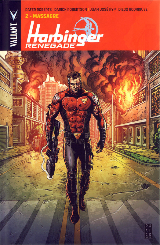 Couverture de Harbinger Renegade -2- Massacre