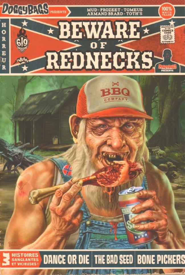 Couverture de Doggybags présente -3- Beware of rednecks