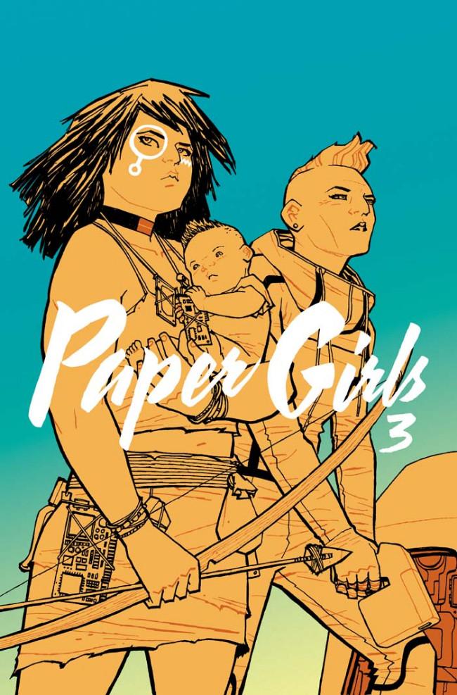 Couverture de Paper Girls (Image comics - 2015) -INT03- Paper Girls Volume 3