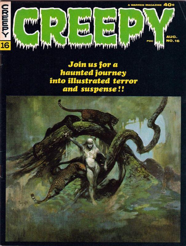 Couverture de Creepy (1964) -16- (sans titre)
