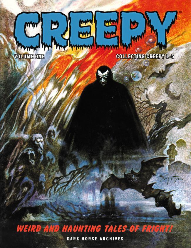 Couverture de Creepy (1964) -INT01- Creepy Archives Volume 1