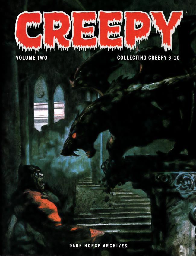 Couverture de Creepy (1964) -INT02- Creepy Archives Volume 2