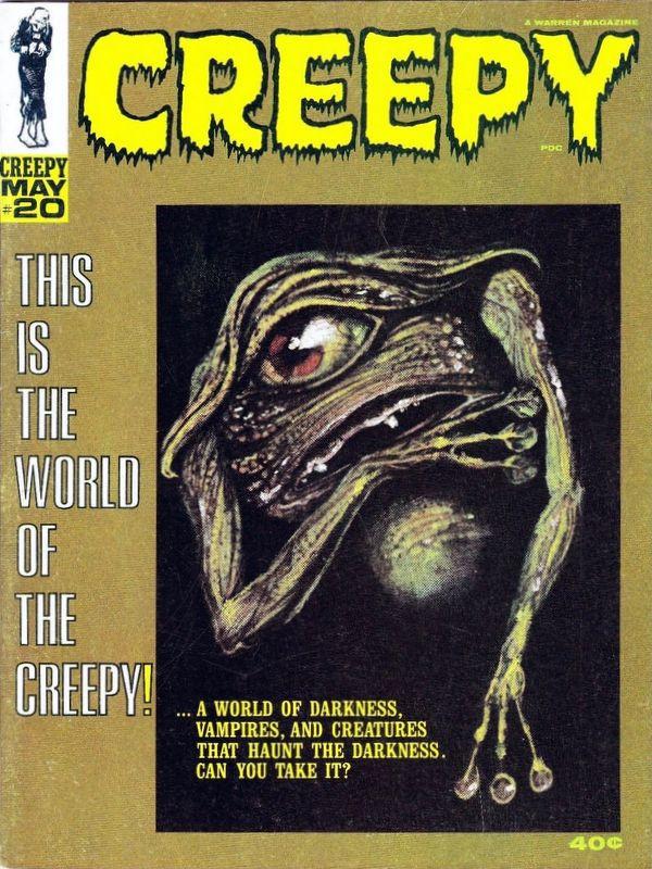 Couverture de Creepy (1964) -20- (sans titre)
