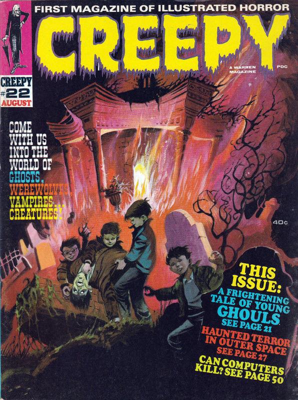 Couverture de Creepy (1964) -22- (sans titre)