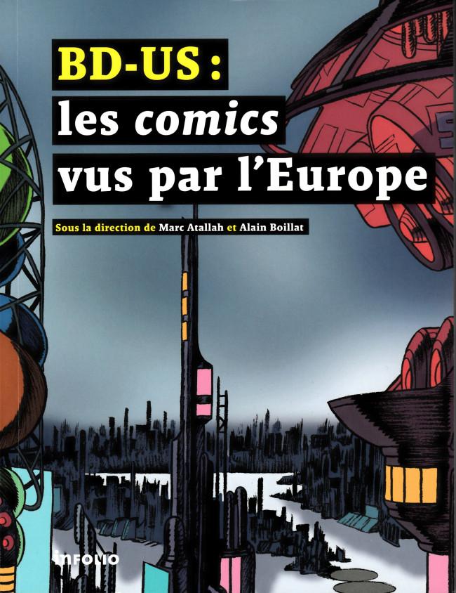 Couverture de (DOC) Études et essais divers - BD-US : Les comics vus par l'Europe